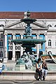 Fontaine Nord place Dom Pedro IV Lisbonne 2.jpg