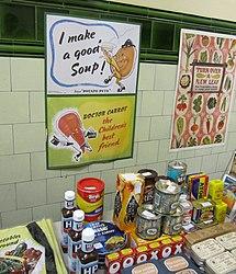 Food for sale at Aldwych (5029009205).jpg