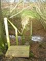 Footbridge on a shropshire footpath - geograph.org.uk - 1065396.jpg