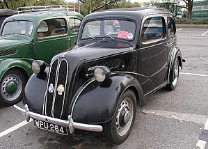 Ford of Britain - January 1940 1953 Ford Anglia E494A