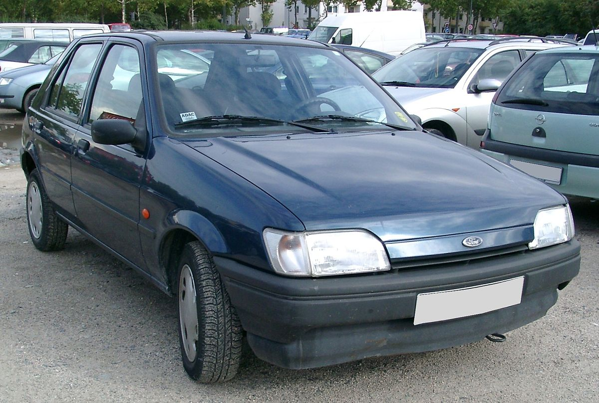 Ford Fiesta Third Generation Wikipedia Festiva Wiring Diagram Pdf