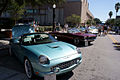 Ford Thunderbird 2002 Convertible RSideFront Lake Mirror Cassic 16Oct2010 (15067792725).jpg