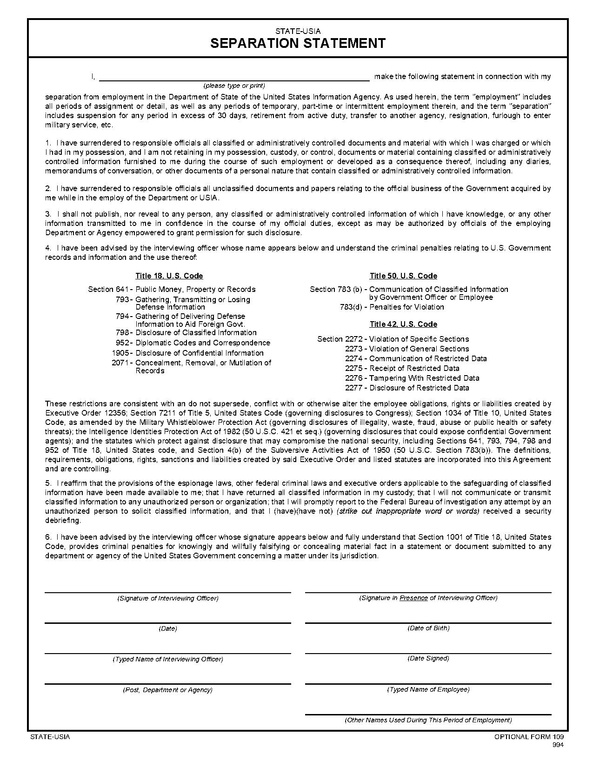 FileForm Of  StateUsia Separation StatementPdf  Wikimedia