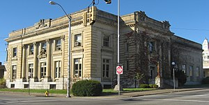 George F. Hammond - The now former post office and federal building in Zanesville