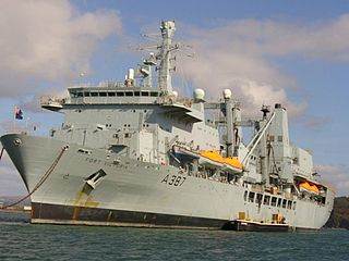 RFA <i>Fort Victoria</i> (A387) Fort-class combined fleet stores ship and tanker