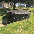 Fort Johnson - dugout.JPG