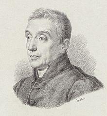 Fortunato Santini – Porträt nach einer Zeichnung von Julius Hübner (1830) (Quelle: Wikimedia)