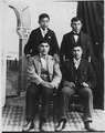 Four youn Indian men. - NARA - 297543.tif