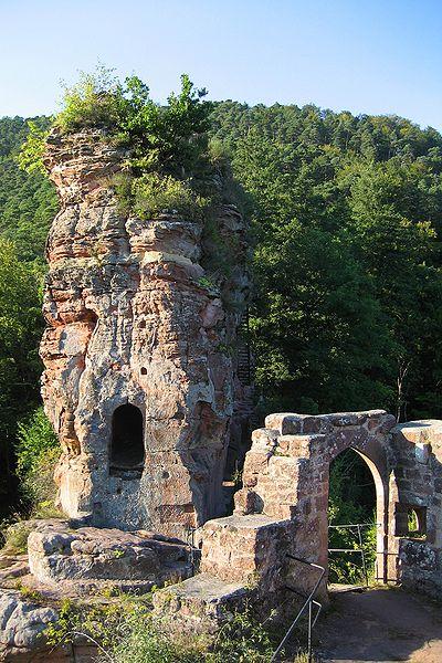 Burgruine Frönsburg bei Niedersteinbach - Château de Frœnsbourg