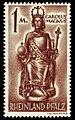 Fr. Zone Rheinland-Pfalz 1947 15 Karl der Große.jpg
