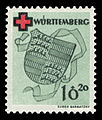 Fr. Zone Württemberg 1949 40A Rotes Kreuz.jpg