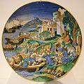 Francesco xanto avelli, piatto con l'adduzione di elena, 1534.JPG