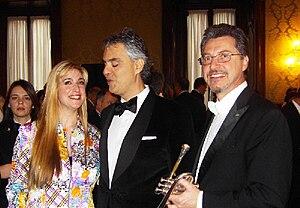 Francoise de Clossey%2C Mauro Maur e Andrea Bocelli