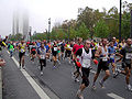 Frankfurt marathon 2004 erster kilometer.jpg