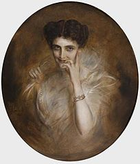 Portrait of Mary Victoria Leiter