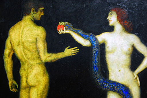 Franz-Von-Stuck-adam-and-Eve