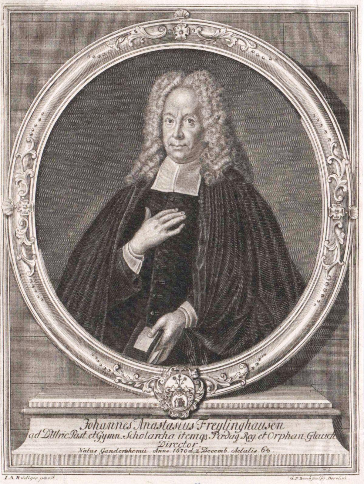 Johann Anastasius Freylinghausen –