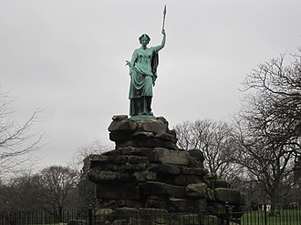 Friary Park - Image: Friary Park Statue of Peace