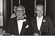Fritz Feld and Virginia Christine, 1979.jpg