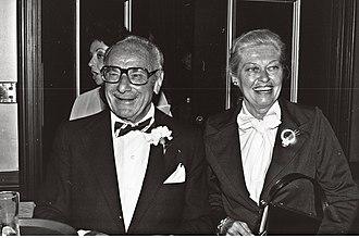 Virginia Christine - Christine, with her husband, Fritz Feld (1979)