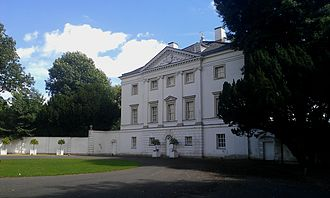 Marble Hill House - Marble Hill House, North (town) front