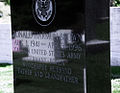 Front view - Ron Brown headstone - Arlington National Cemetery.JPG
