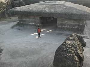 Shivleni Caves - Frontside view of Shivleni