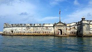 Tercer lugar: Fuerte de San Fernando de Bocachica, en la isla de Tierra Bomba, Bocachica. Autor: Samael Alejandro Zapata Ibarra