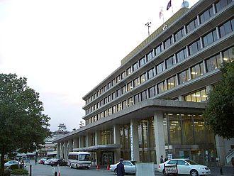 Fukuchiyama, Kyoto - Image: Fukuchiyama City Hall