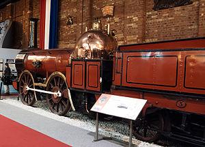 Furness Railway No. 3 - The locomotive displayed at York
