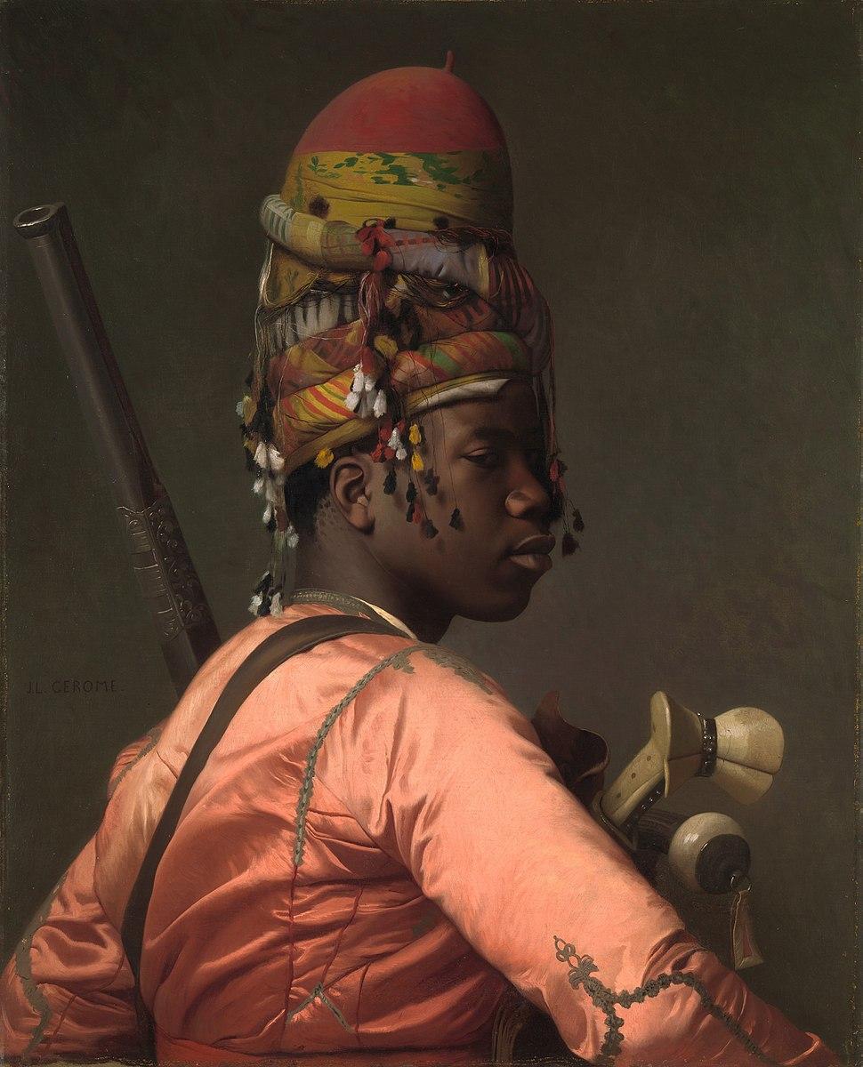 Gérôme-Black Bashi-Bazouk-c. 1869