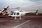 G-BBOS Bell Jet ranger BEAS CVT 29-06-77 (36382932724).jpg
