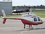 G-DOFY Bell Jet Ranger 206 Helicopter (26579320331).jpg