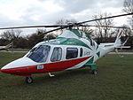 G-POTR Agusta A109 Helicopter (25284758463).jpg