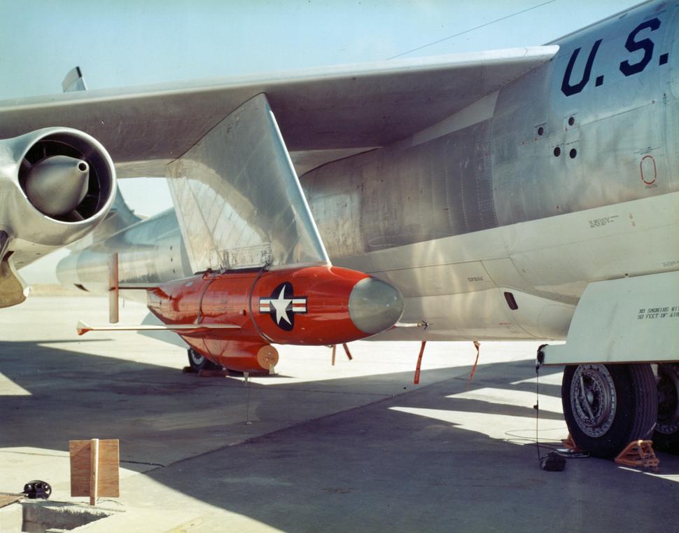 GAM-67 on B-47