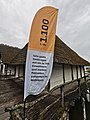 GER — BW — Uhldingen-Mühlhofen — Unteruhldingen (Pfahlbaumuseum — Beachflag 1.100 v. Chr.) 2021.jpg