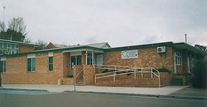 Goulburn, New South Wales -  Entry to the Goulburn Medical Clinic from McKell Place
