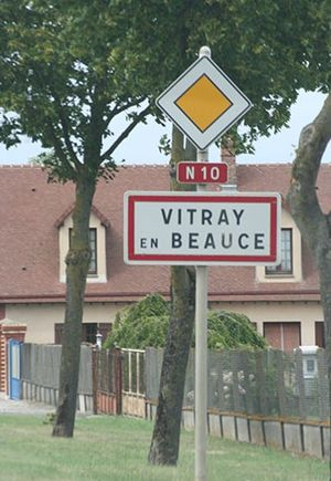 Route nationale 10 - Vitray-en-Beauce