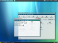 GNOME desktop environment using a theme similar to Aero in Windows Vista--2007, 03.png
