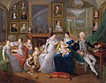 Gabriel Joseph de Froment, Baron de Castille (1747 - 1826) with family, French School, 19th Century.jpg