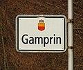 Gamprin Liechtenstein Ortsbeginn auf Nebenstrasse (Süd).jpg