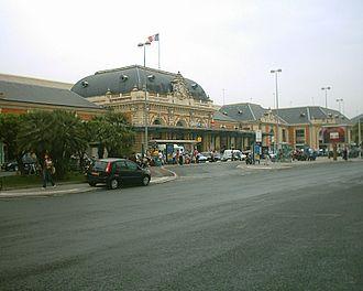 Gare de Nice-Ville - Station building