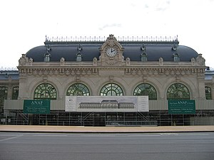 Gare des Brotteaux - Facade of the railway station