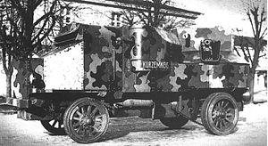 Garford-Putilov Armoured Car - A Garford Putilov in 1918.