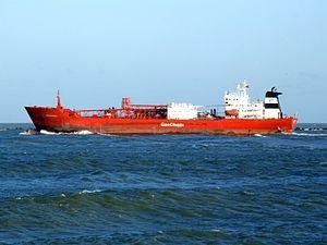 Gaschem Atrice p2 leaving Port of Rotterdam, Holland 14-Jan-2007.jpg
