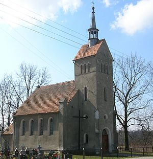 Gaszowice, Lower Silesian Voivodeship - Church in Gaszowice