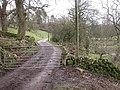 Gated road - geograph.org.uk - 311476.jpg