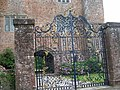 Gates at Bickleigh castle - geograph.org.uk - 1425219.jpg