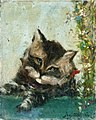 Gauguin 1884 Tête de chat.jpg