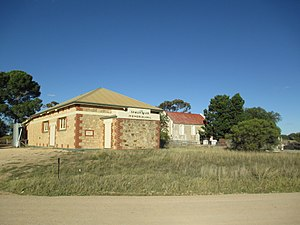 Gawler River, South Australia - Gawler River Hall, church and cemetery